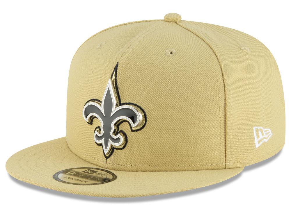 New Orleans Saints New Era NFL Metal Thread 9FIFTY Snapback Cap ... fd8c42d8f