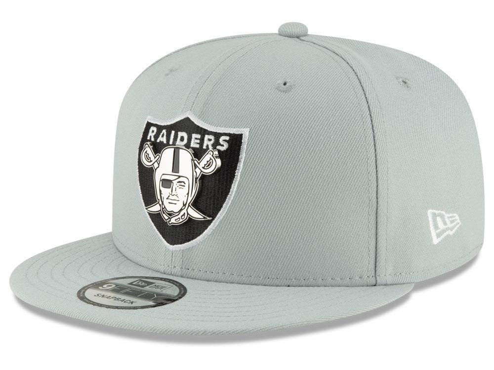 Oakland Raiders New Era NFL Metal Thread 9FIFTY Snapback Cap  806a5d82dc1
