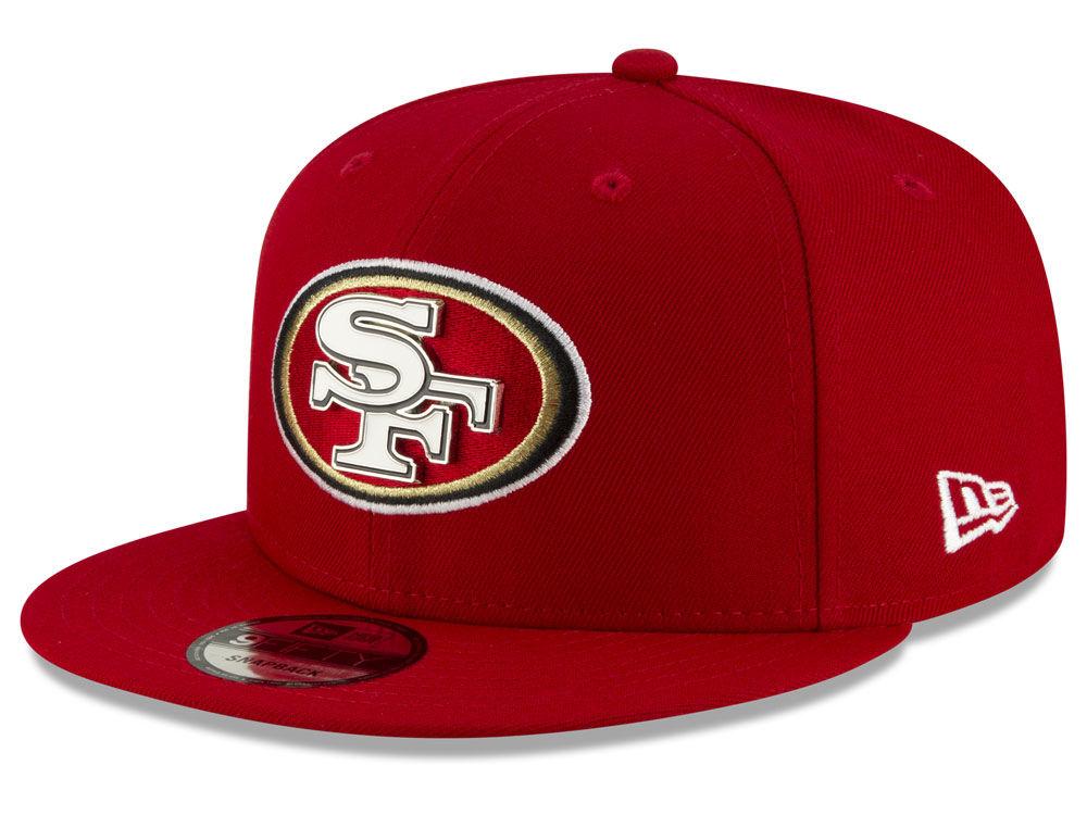 a76366691fc San Francisco 49ers New Era NFL Metal Thread 9FIFTY Snapback Cap ...