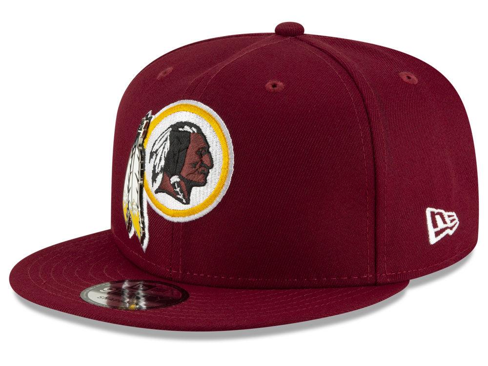 663c3d5d0d3 Washington Redskins New Era NFL Metal Thread 9FIFTY Snapback Cap ...
