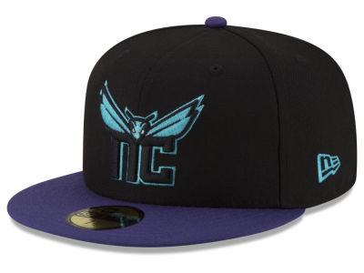 Charlotte Hornets New Era NBA Dark City Combo 59FIFTY Cap