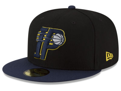 Indiana Pacers New Era NBA Dark City Combo 59FIFTY Cap