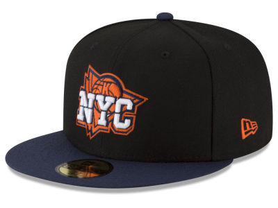New York Knicks New Era NBA Dark City Combo 59FIFTY Cap