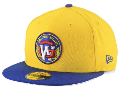 Golden State Warriors New Era NBA Light City Combo 9FIFTY Snapback Cap