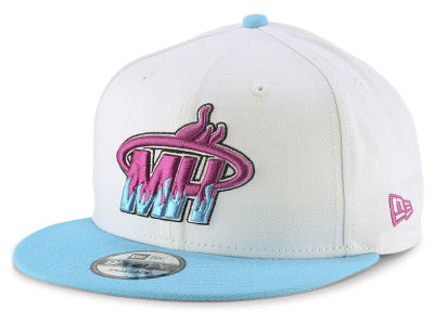Miami Heat New Era NBA Light City Combo 9FIFTY Snapback Cap