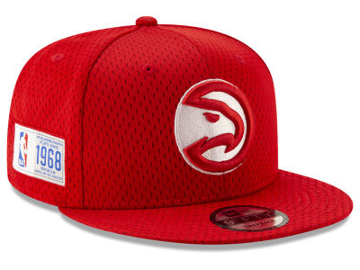 Atlanta Hawks New Era NBA Jock Tag 9FIFTY Snapback Cap
