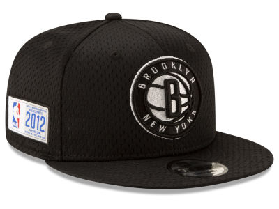 Brooklyn Nets New Era NBA Jock Tag 9FIFTY Snapback Cap