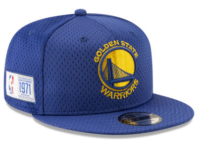 Golden State Warriors New Era NBA Jock Tag 9FIFTY Snapback Cap