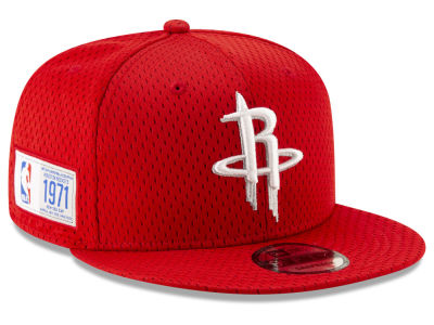 Houston Rockets New Era NBA Jock Tag 9FIFTY Snapback Cap
