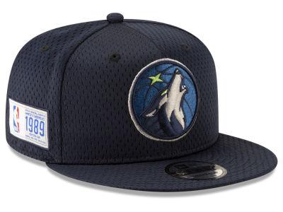 Minnesota Timberwolves New Era NBA Jock Tag 9FIFTY Snapback Cap