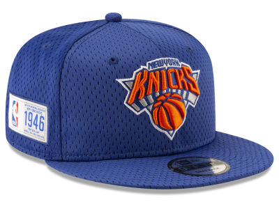 New York Knicks New Era NBA Jock Tag 9FIFTY Snapback Cap