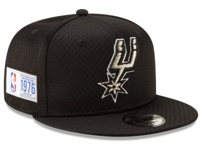 San Antonio Spurs New Era NBA Jock Tag 9FIFTY Snapback Cap