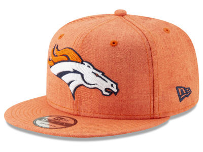 Denver Broncos New Era NFL Heather Crisp 9FIFTY Snapback Cap