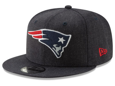 New England Patriots New Era NFL Heather Crisp 9FIFTY Snapback Cap