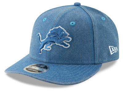 Detroit Lions New Era NFL Heathered Hit Low Profile 9FIFTY Snapback Cap