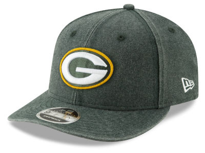Green Bay Packers New Era NFL Heathered Hit Low Profile 9FIFTY Snapback Cap