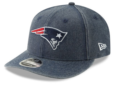 New England Patriots New Era NFL Heathered Hit Low Profile 9FIFTY Snapback Cap