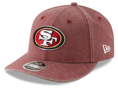 San Francisco 49ers New Era NFL Heathered Hit Low Profile 9FIFTY Snapback  Cap 6432bfb40