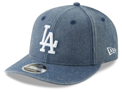 Los Angeles Dodgers New Era MLB Heathered Hit Low Profile 9FIFTY Snapback Cap