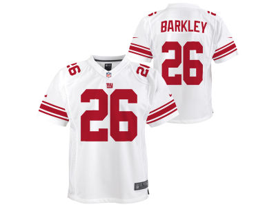 532ec3ed2 New York Giants Saquon Barkley Nike NFL Youth Color Rush Jersey