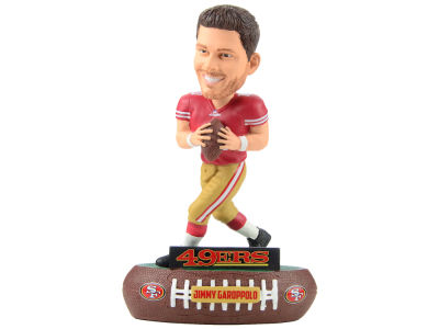San Francisco 49ers Jimmy Garoppolo Forever Collectibles Baller Bobblehead