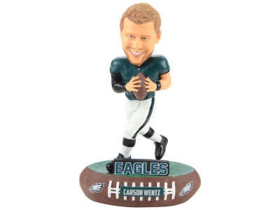 Philadelphia Eagles Carson Wentz Forever Collectibles Baller Bobblehead