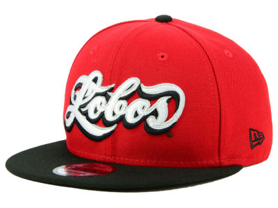 New Mexico Lobos New Era NCAA Mister Cartoon 9FIFTY Snapback Cap