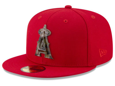 Los Angeles Angels New Era MLB Camo Capped 59FIFTY Cap