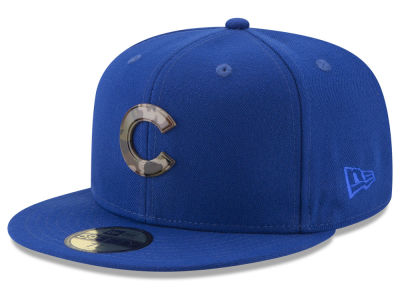 Chicago Cubs New Era MLB Camo Capped 59FIFTY Cap