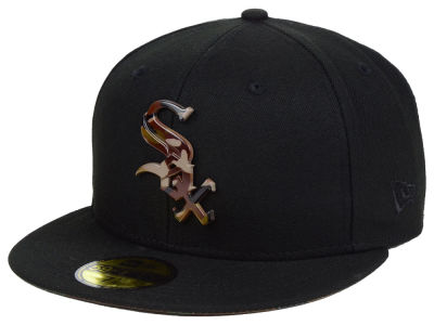 Chicago White Sox New Era MLB Camo Capped 59FIFTY Cap