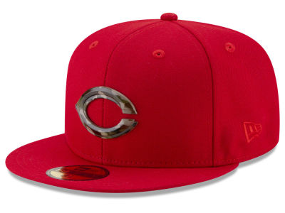 Cincinnati Reds New Era MLB Camo Capped 59FIFTY Cap