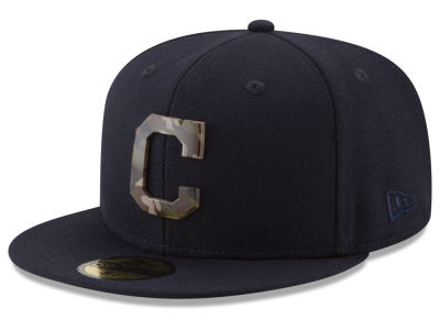 Cleveland Indians New Era MLB Camo Capped 59FIFTY Cap