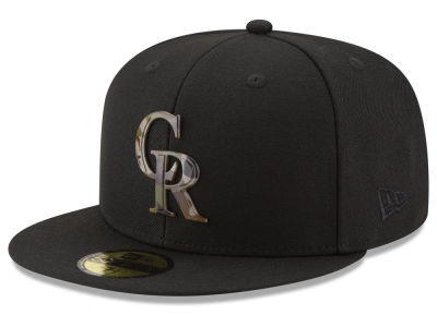 Colorado Rockies New Era MLB Camo Capped 59FIFTY Cap