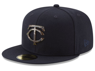 Minnesota Twins New Era MLB Camo Capped 59FIFTY Cap