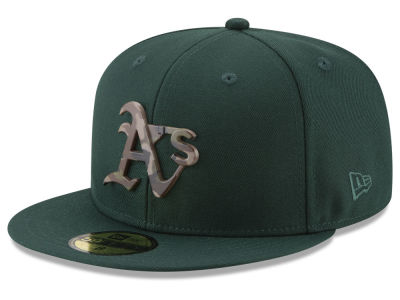 Oakland Athletics New Era MLB Camo Capped 59FIFTY Cap