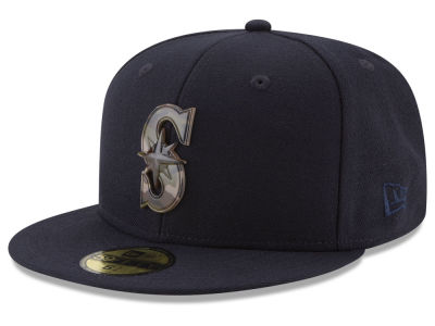 Seattle Mariners New Era MLB Camo Capped 59FIFTY Cap