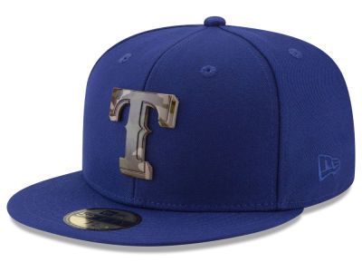 Texas Rangers New Era MLB Camo Capped 59FIFTY Cap