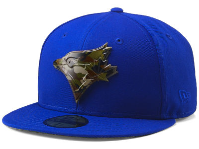 Toronto Blue Jays New Era MLB Camo Capped 59FIFTY Cap