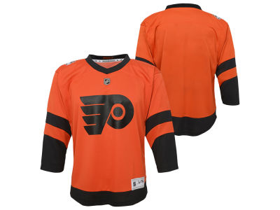 46e7395cc Philadelphia Flyers Outerstuff 2019 NHL Youth Stadium Series Blank Replica  Jersey