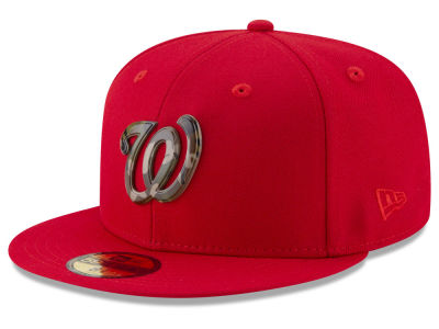 Washington Nationals New Era MLB Camo Capped 59FIFTY Cap