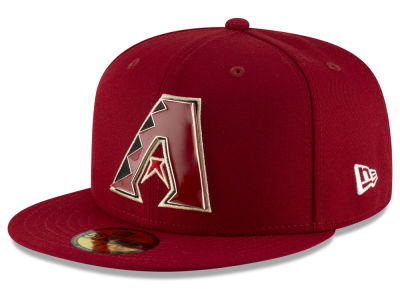 Arizona Diamondbacks New Era MLB Metal & Thread 59FIFTY Cap