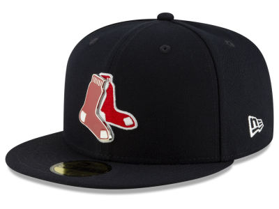 Boston Red Sox New Era MLB Metal & Thread 59FIFTY Cap
