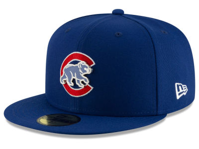 Chicago Cubs New Era MLB Metal & Thread 59FIFTY Cap