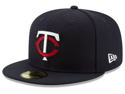 Minnesota Twins New Era MLB Metal & Thread 59FIFTY Cap