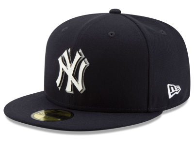 New York Yankees New Era MLB Metal & Thread 59FIFTY Cap
