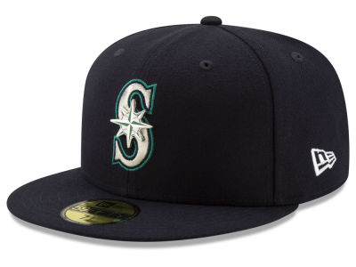 Seattle Mariners New Era MLB Metal & Thread 59FIFTY Cap