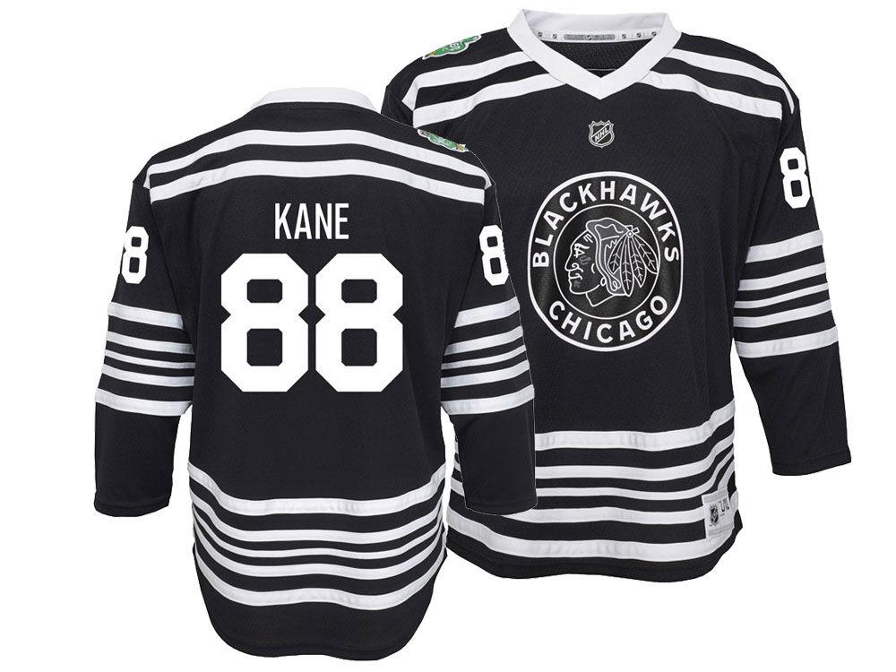 Chicago Blackhawks Patrick Kane 2019 NHL Youth Winter Classic Player Jersey   b8c9509d591
