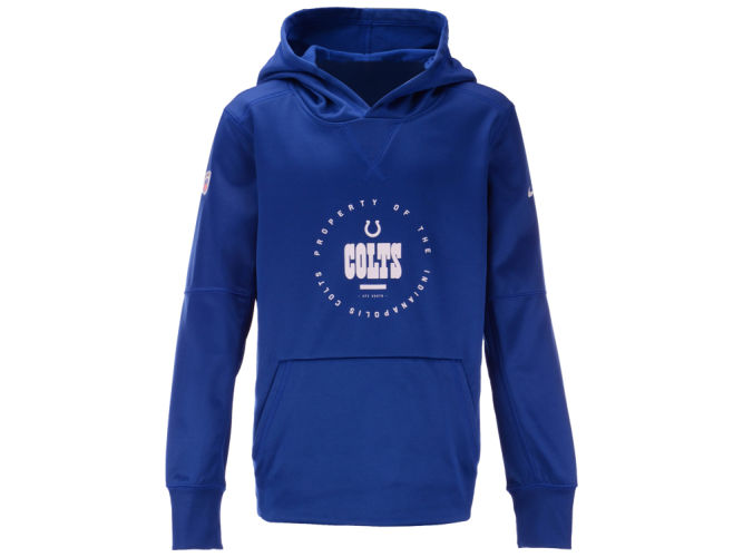 95411e545 Indianapolis Colts Outerstuff NFL Youth Prop of Therma Hoodie ...