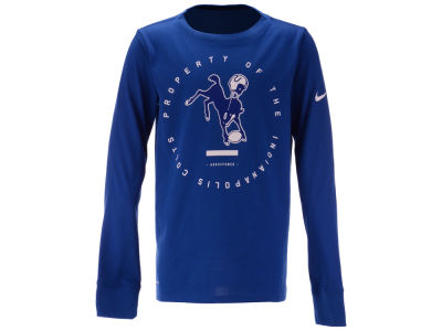 Appui vertical Youth de NFL de long T-Shirt de douille