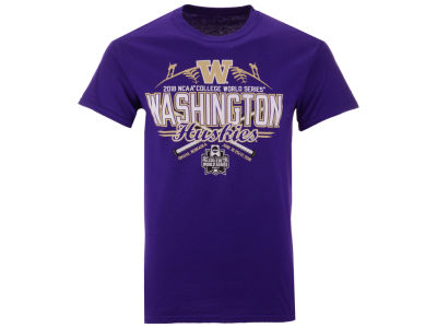 Washington Huskies 2018 NCAA Men's College World Series Home Team T-Shirt